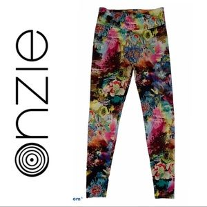 Onzie Floral Leggings